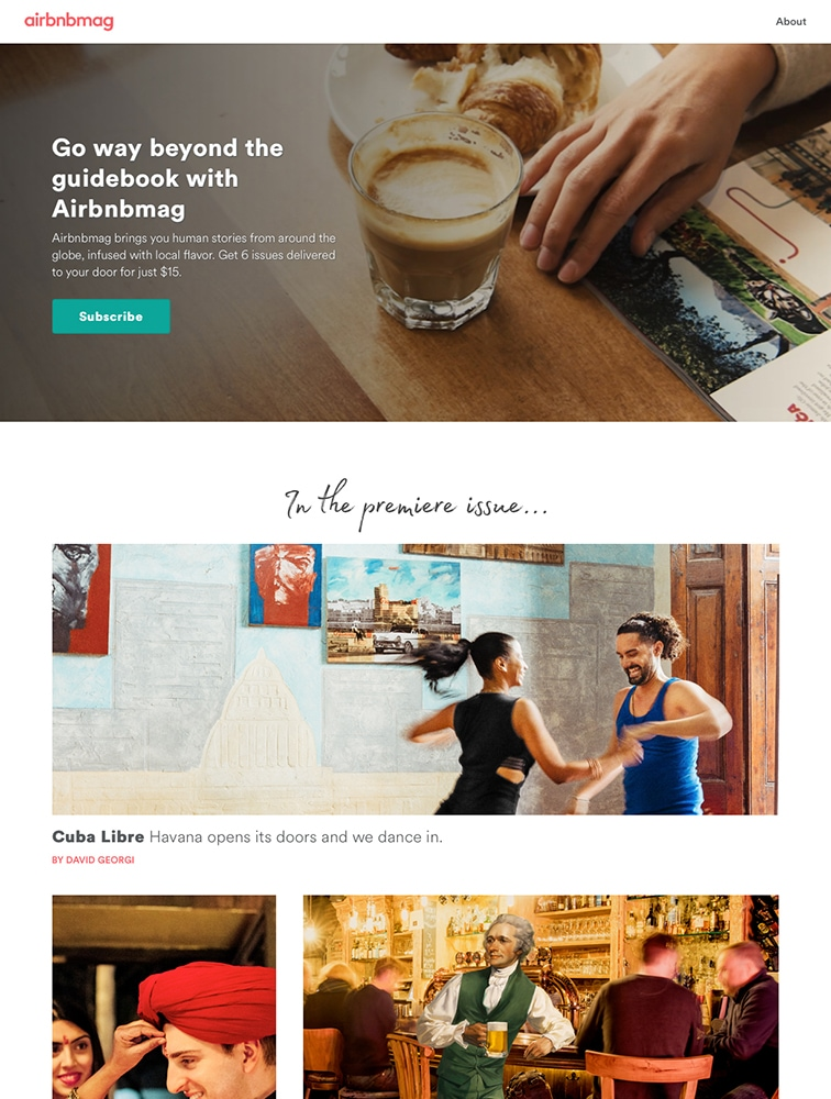 The Best 4 Airbnb Landing Page Design Inspiration - Lapa Ninja