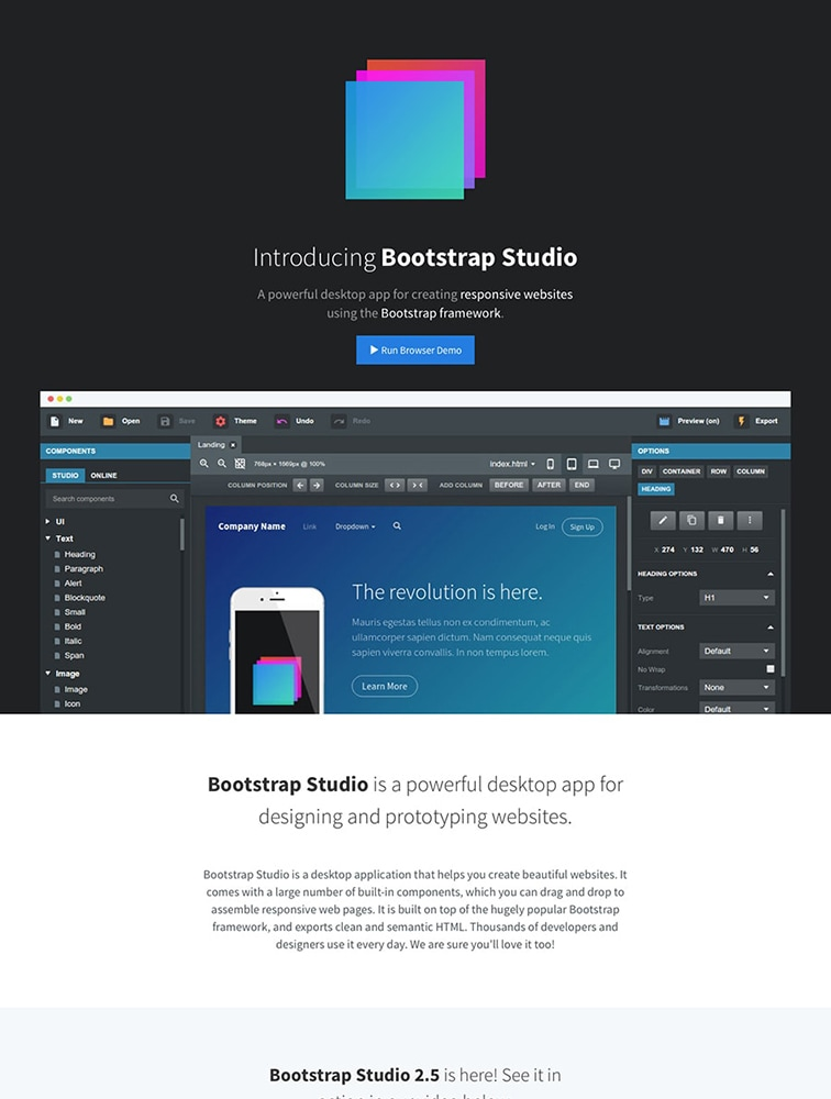 The Best 1 bootstrap Landing Page Design Inspiration - Lapa