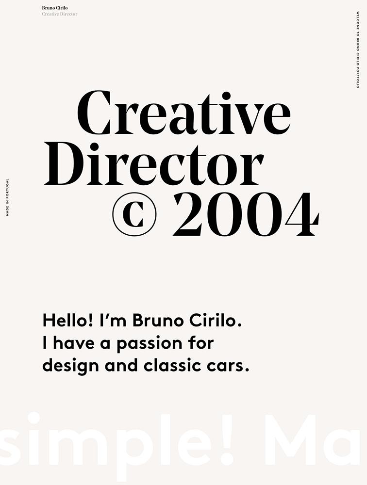 Bruno Cirilo Landing Page Example
