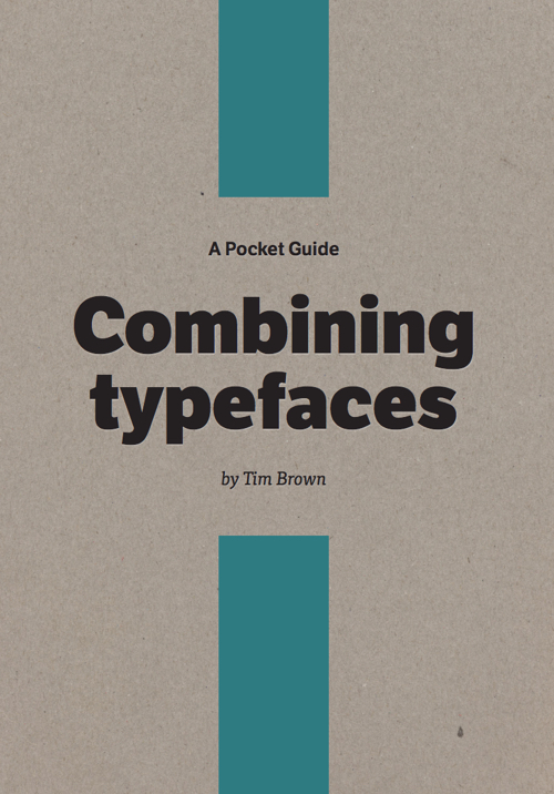 Download free ebook Combining Typefaces - Lapa Ninja
