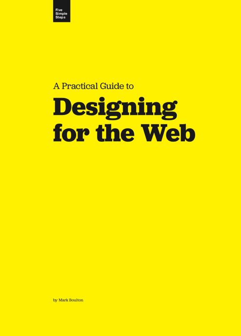 Download free ebook Designing for the Web - Lapa Ninja