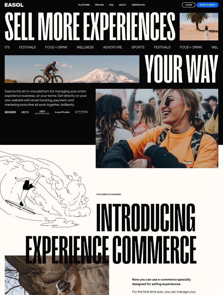 Easol Landing Page Example