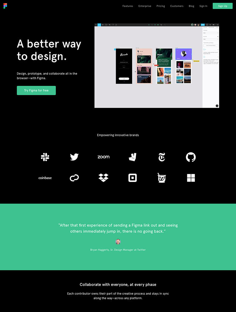 The Best 2 figma Landing Page Design Inspiration - Lapa Ninja