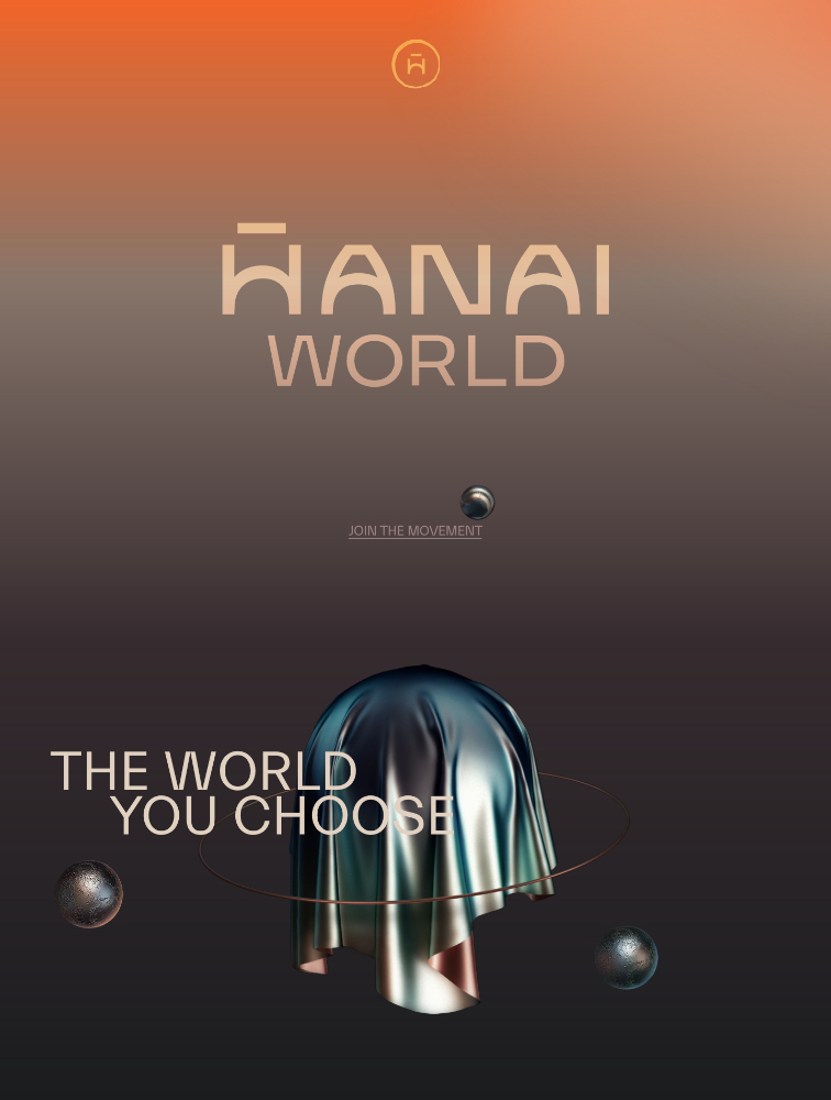 Hanai World Landing Page Example