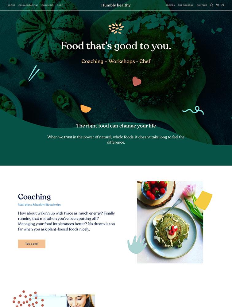 The Best 111 Food Drinks Landing Page Design Inspiration Lapa Ninja
