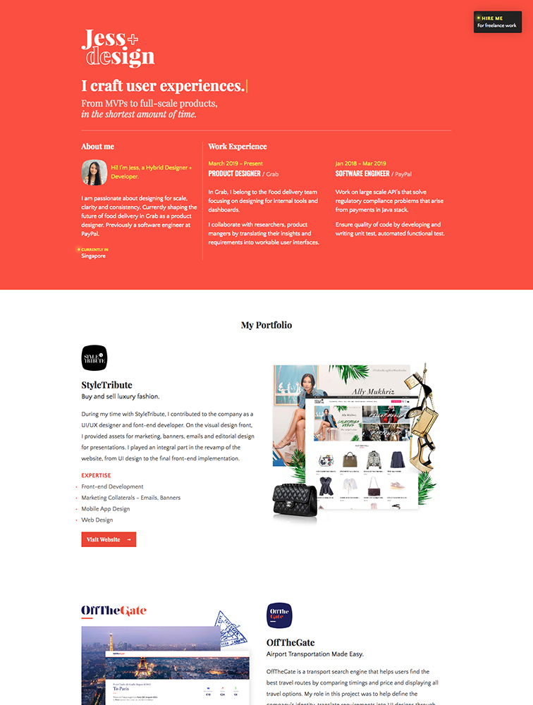 The Best 222 Portfolio Landing Page Design Inspiration