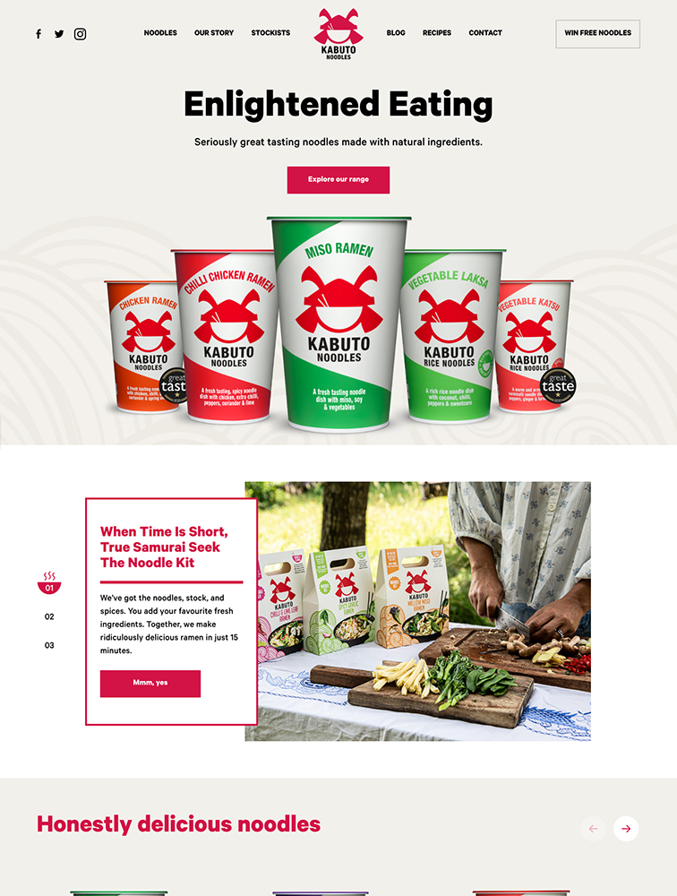 The Best 111 Food Drinks Landing Page Design Inspiration Lapa Ninja