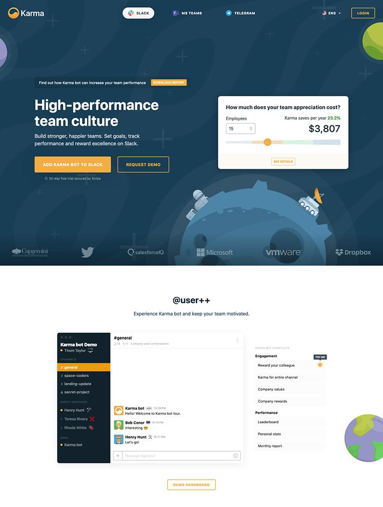 The Best 17 Bot Landing Page Design Inspiration Lapa Ninja