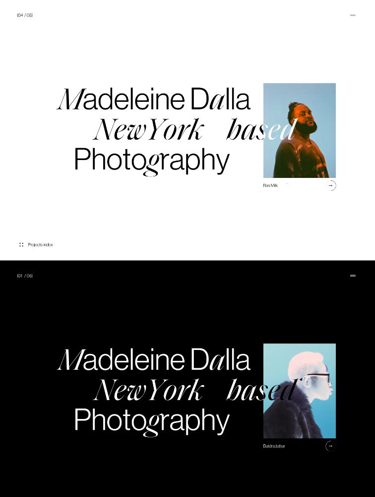 Madeleine Dalla Landing Page Example