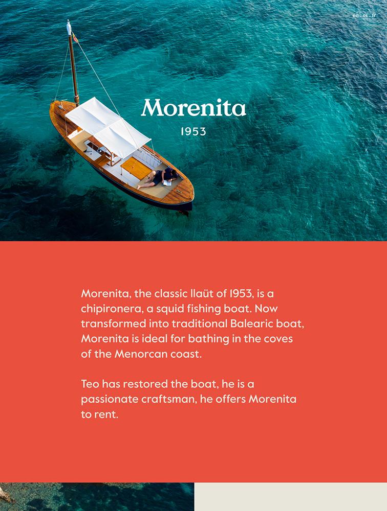 Morenita Landing Page Example