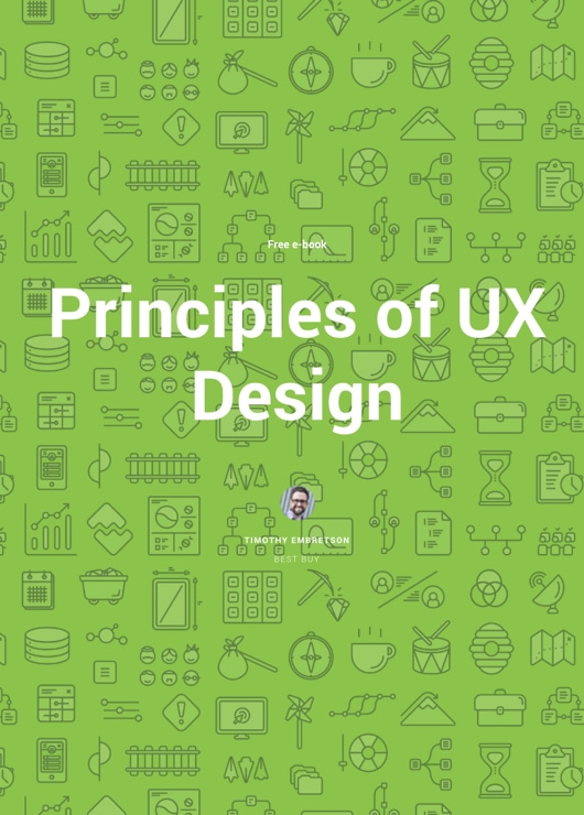Download free ebook Principles of UX Design - Lapa Ninja