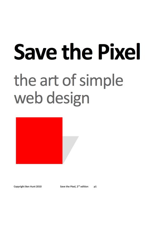 Download free ebook Save the Pixel - Lapa Ninja