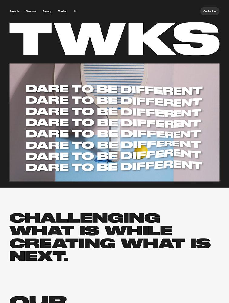 TWKS Landing Page Example