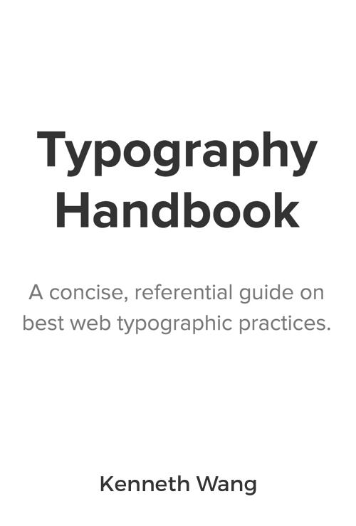 Download free ebook Typography Handbook - Lapa Ninja