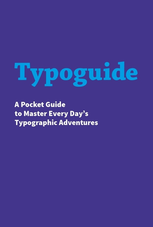 Download free ebook Typoguide - Lapa Ninja