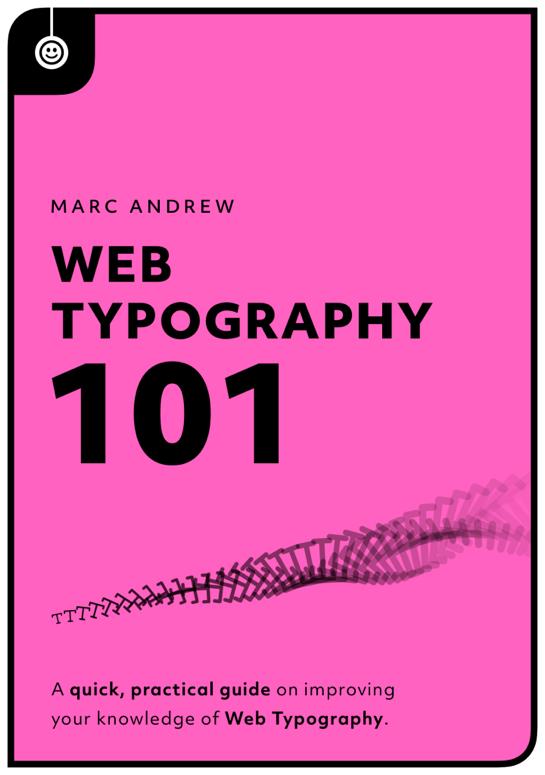 Download free ebook Web Typography 101 Guide - Lapa Ninja