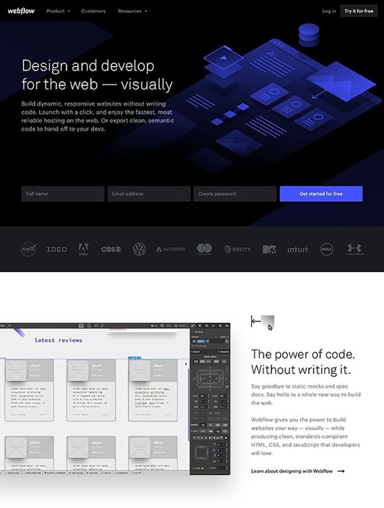 The Best 6 webflow Landing Page Design Inspiration - Lapa Ninja